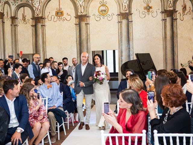 Il matrimonio di Fabio e Silvia a Calco, Lecco 38