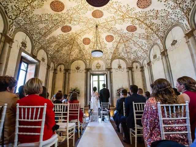 Il matrimonio di Fabio e Silvia a Calco, Lecco 40