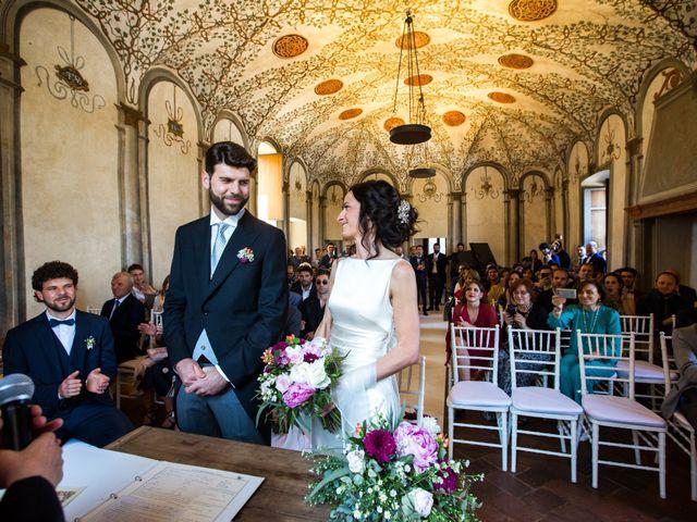 Il matrimonio di Fabio e Silvia a Calco, Lecco 41
