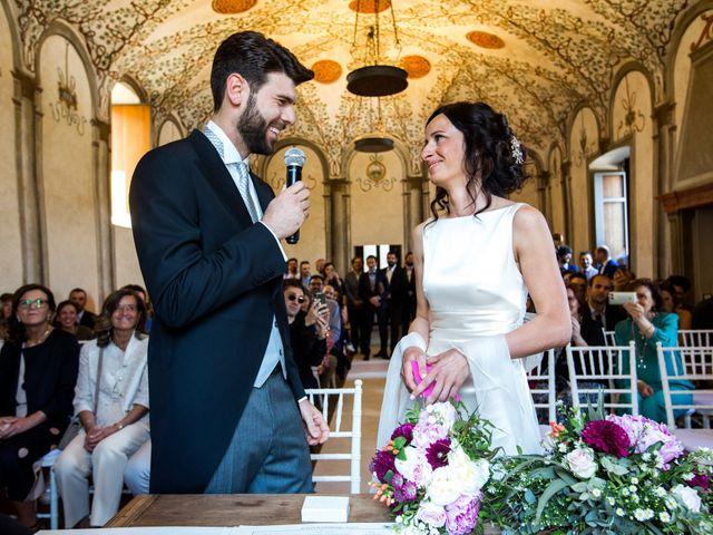 Il matrimonio di Fabio e Silvia a Calco, Lecco 43