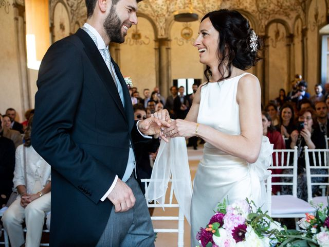 Il matrimonio di Fabio e Silvia a Calco, Lecco 45