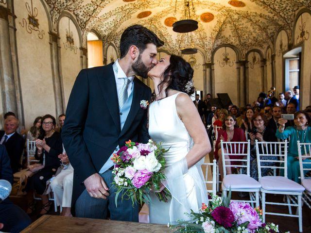 Il matrimonio di Fabio e Silvia a Calco, Lecco 46