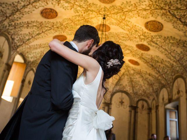 Il matrimonio di Fabio e Silvia a Calco, Lecco 47