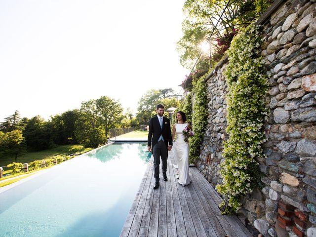 Il matrimonio di Fabio e Silvia a Calco, Lecco 63