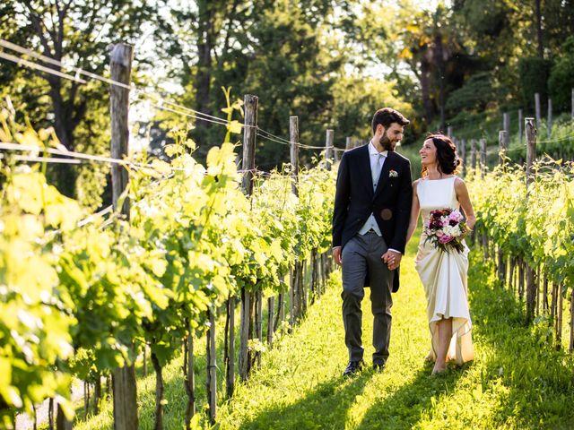 Il matrimonio di Fabio e Silvia a Calco, Lecco 67