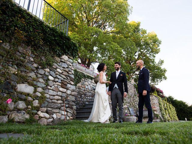 Il matrimonio di Fabio e Silvia a Calco, Lecco 80