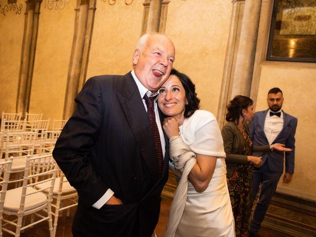 Il matrimonio di Fabio e Silvia a Calco, Lecco 84