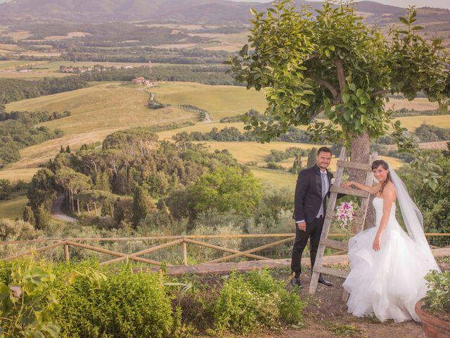 Il matrimonio di Alessio e Dianora a Riparbella, Pisa 3