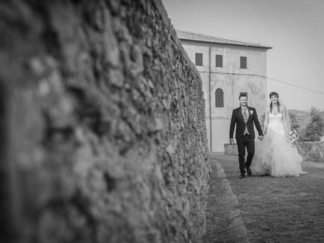 Il matrimonio di Alessio e Dianora a Riparbella, Pisa 4