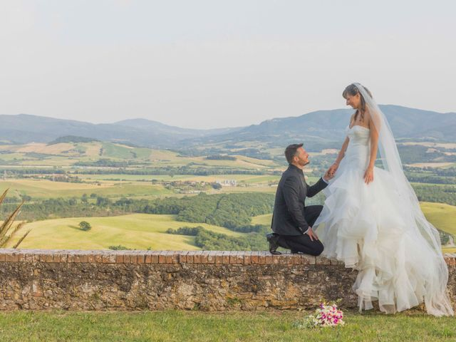 Il matrimonio di Alessio e Dianora a Riparbella, Pisa 5