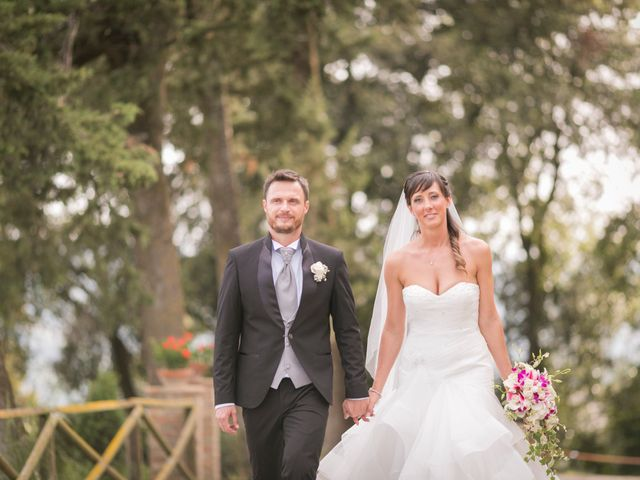 Il matrimonio di Alessio e Dianora a Riparbella, Pisa 21