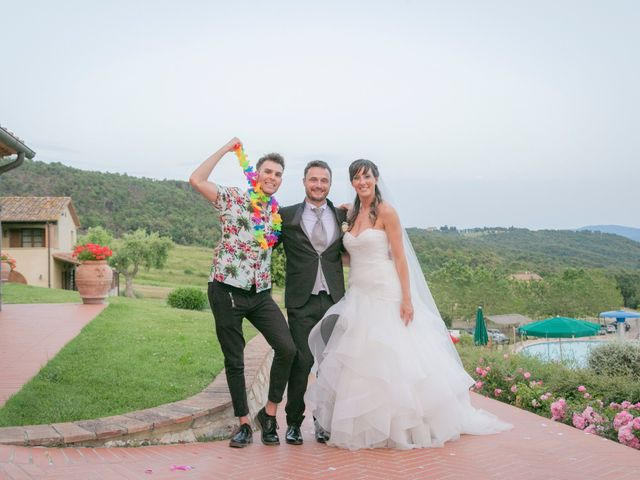 Il matrimonio di Alessio e Dianora a Riparbella, Pisa 24