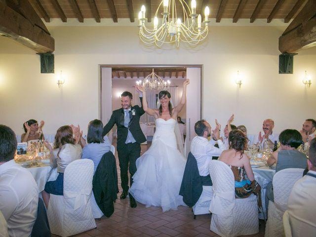 Il matrimonio di Alessio e Dianora a Riparbella, Pisa 31