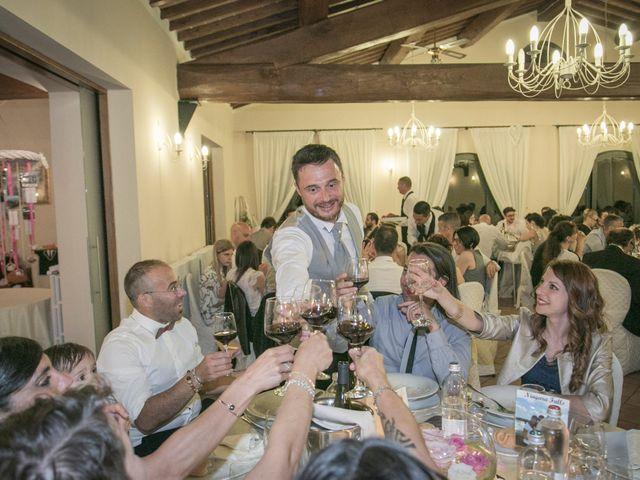 Il matrimonio di Alessio e Dianora a Riparbella, Pisa 33