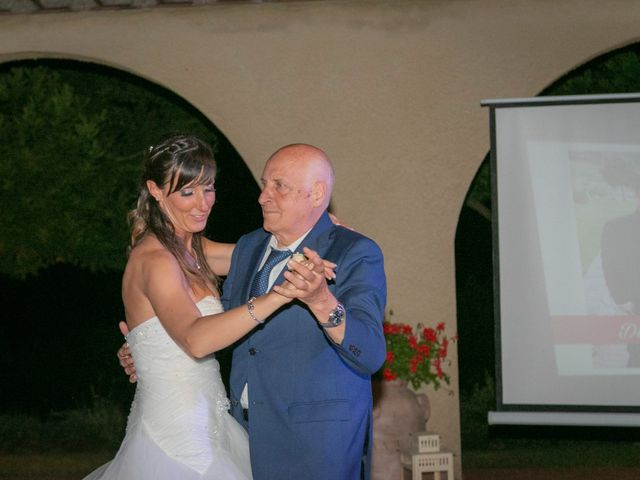 Il matrimonio di Alessio e Dianora a Riparbella, Pisa 44