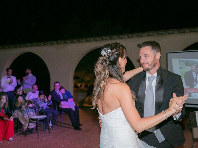 Il matrimonio di Alessio e Dianora a Riparbella, Pisa 45