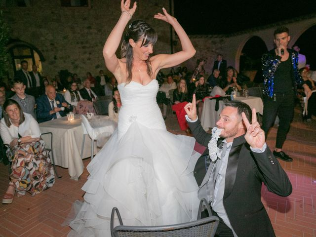 Il matrimonio di Alessio e Dianora a Riparbella, Pisa 46