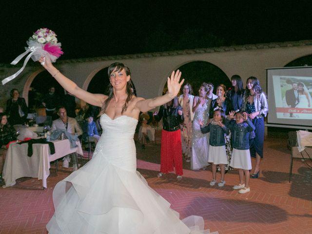 Il matrimonio di Alessio e Dianora a Riparbella, Pisa 49