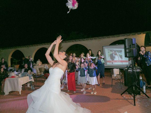 Il matrimonio di Alessio e Dianora a Riparbella, Pisa 50