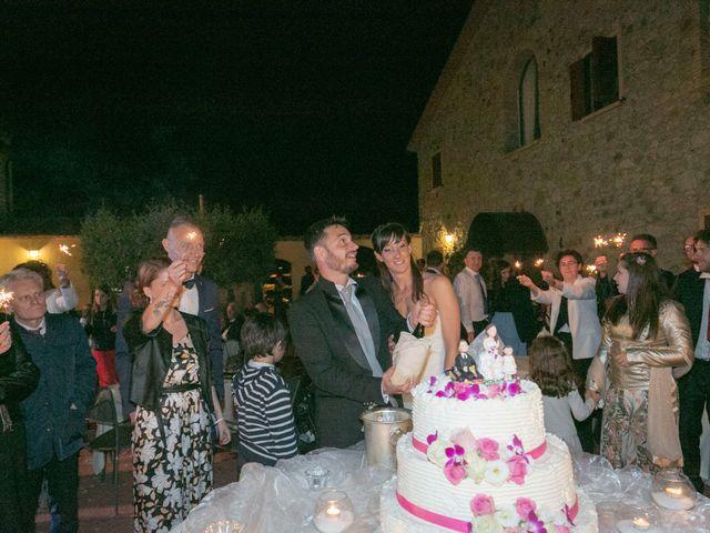 Il matrimonio di Alessio e Dianora a Riparbella, Pisa 54