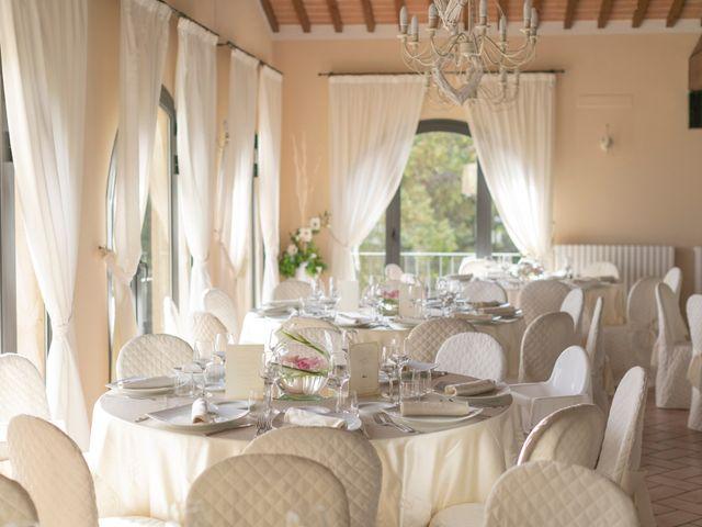 Il matrimonio di Alessio e Dianora a Riparbella, Pisa 70
