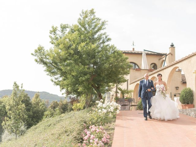 Il matrimonio di Alessio e Dianora a Riparbella, Pisa 78