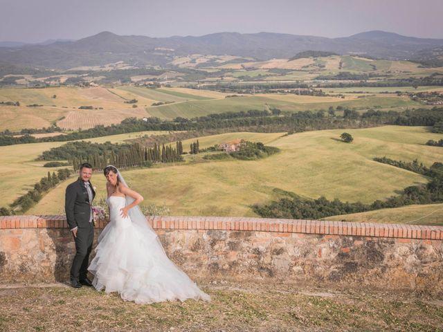Il matrimonio di Alessio e Dianora a Riparbella, Pisa 85