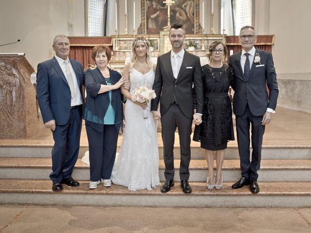 Il matrimonio di Alex e Marianna a Calcio, Bergamo 69