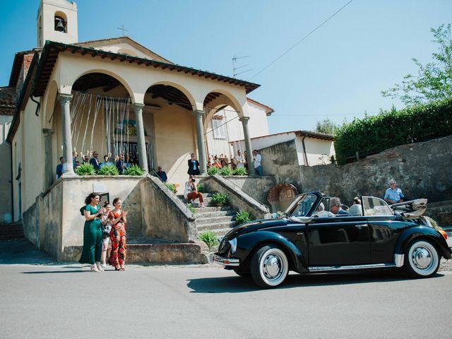 Il matrimonio di Emanuele e Martina a Vinci, Firenze 18