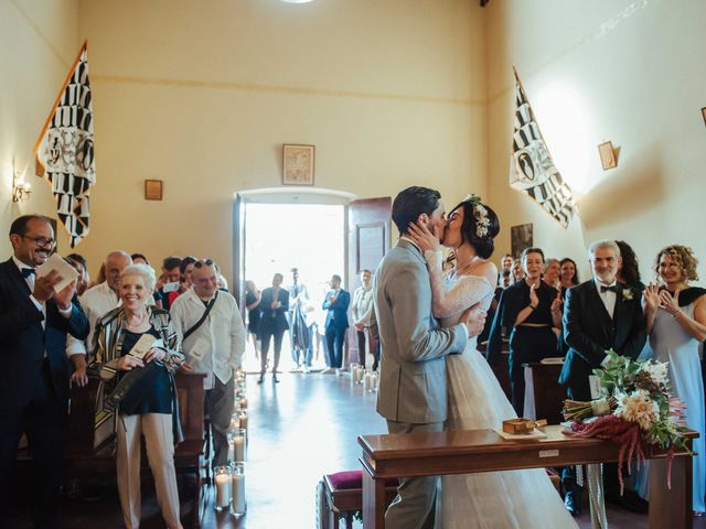 Il matrimonio di Emanuele e Martina a Vinci, Firenze 32
