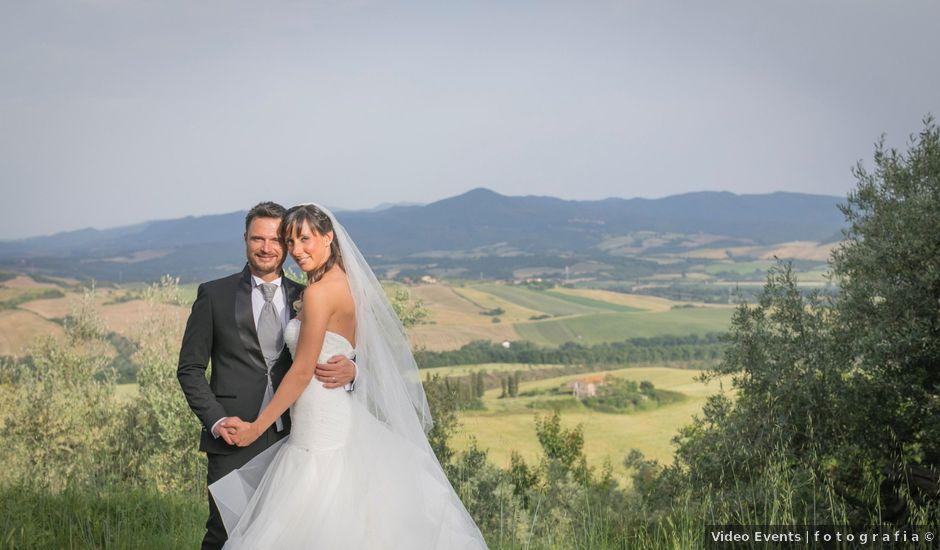 Il matrimonio di Alessio e Dianora a Riparbella, Pisa