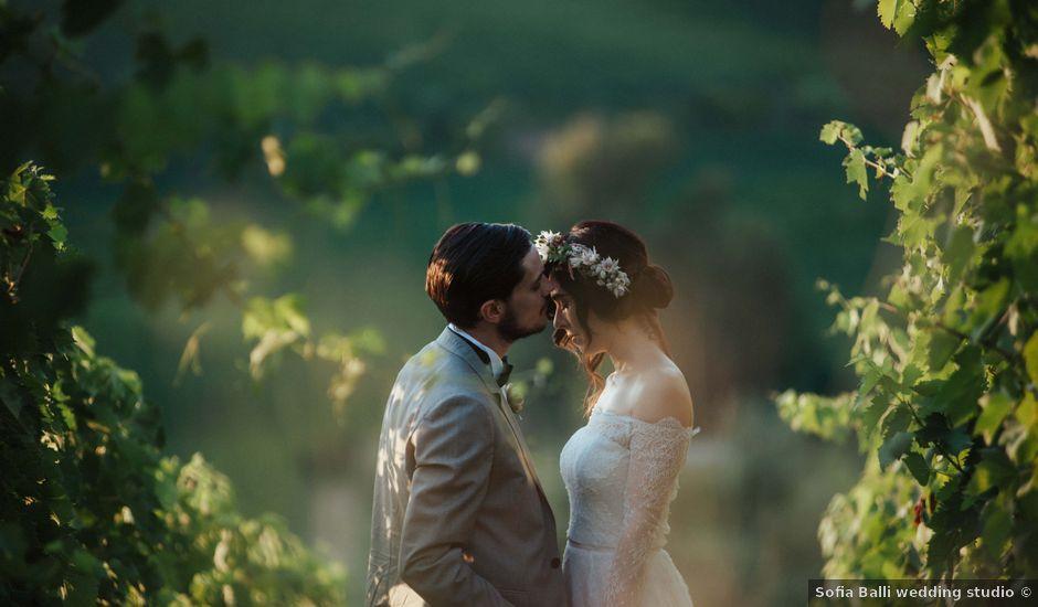 Il matrimonio di Emanuele e Martina a Vinci, Firenze