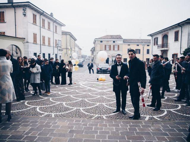 Il matrimonio di Andrea e Giulia a Bordolano, Cremona 40