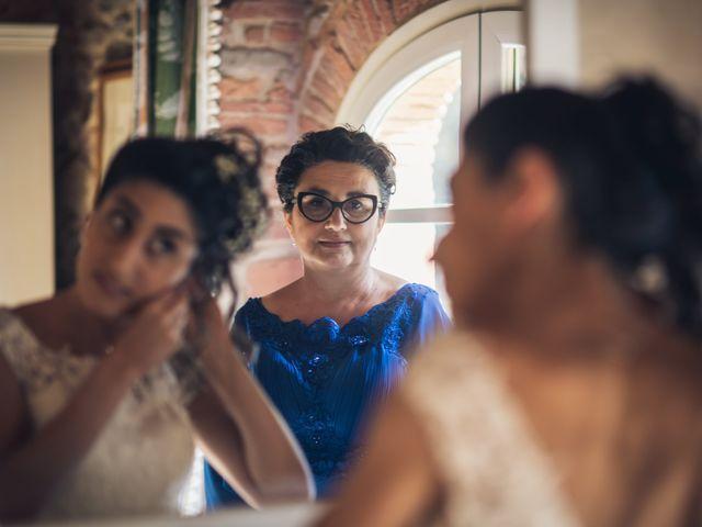 Il matrimonio di Federica e Francesco a Buti, Pisa 4