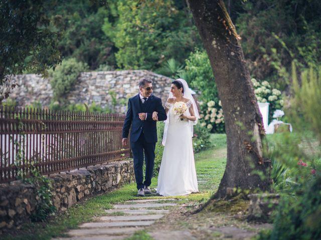 Il matrimonio di Federica e Francesco a Buti, Pisa 11