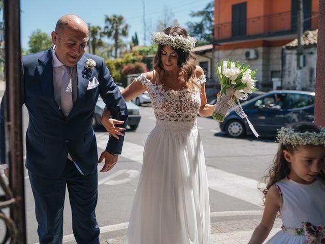 Il matrimonio di Ylenia e Salvo a Aci Castello, Catania 16