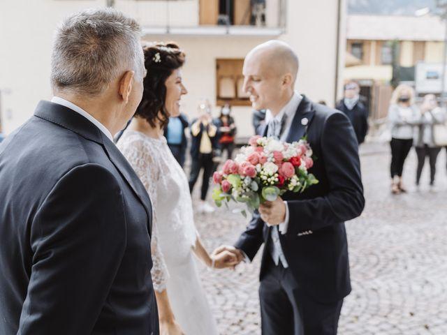 Il matrimonio di Adriano e Roberta a Roverè della Luna, Trento 9