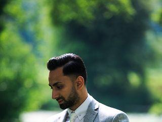 Le nozze di Kunal e Reshma 1