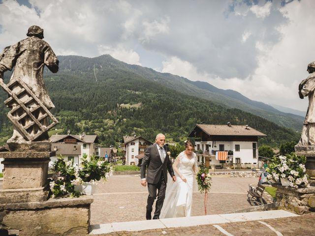 Il matrimonio di Simone e Gilda a Transacqua, Trento 9