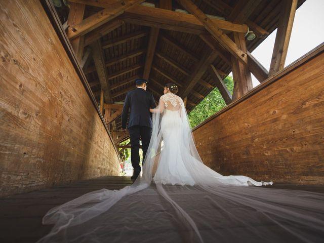 Il matrimonio di Simone e Gilda a Transacqua, Trento 21