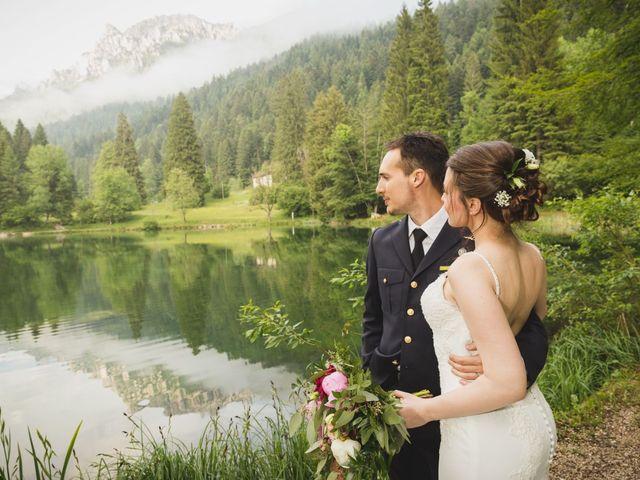 Il matrimonio di Simone e Gilda a Transacqua, Trento 28