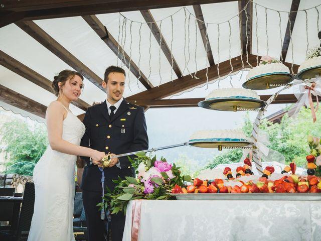 Il matrimonio di Simone e Gilda a Transacqua, Trento 40