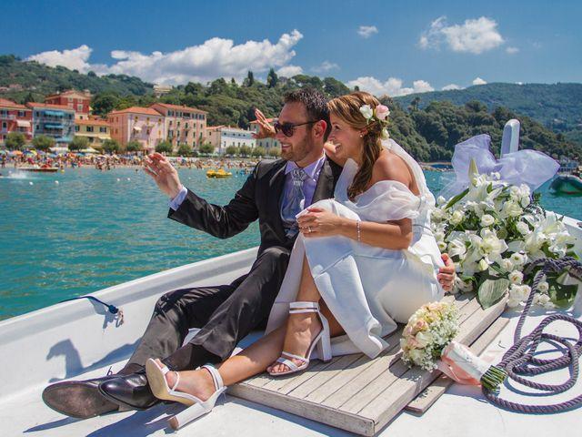 Il matrimonio di Nicola e Francesca a Lerici, La Spezia 11
