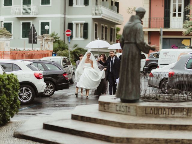 Il matrimonio di Alessandro e Francesca a Alassio, Savona 39