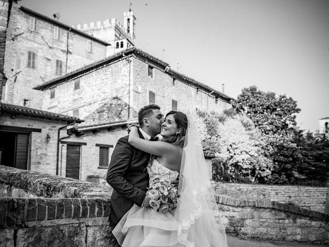 Il matrimonio di Marco e Roberta a Maiolati Spontini, Ancona 43
