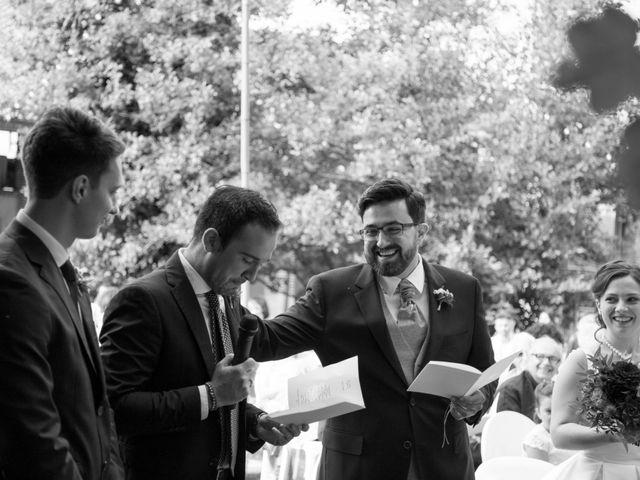 Il matrimonio di Luca e Serena a Besate, Milano 33