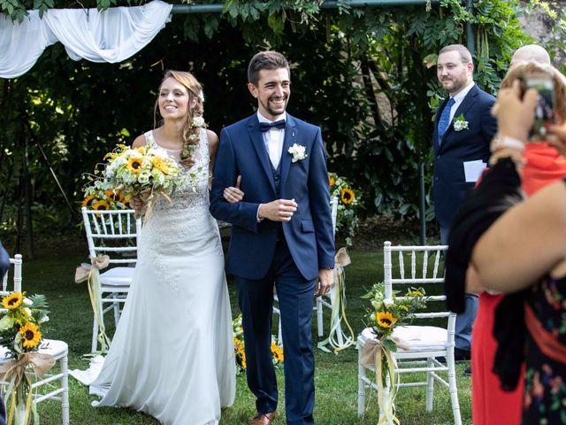 Il matrimonio di Lorenzo e Michela a Sulbiate, Monza e Brianza 79