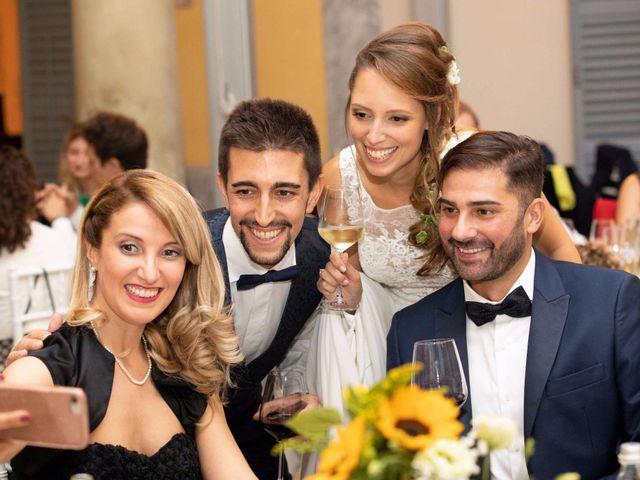 Il matrimonio di Lorenzo e Michela a Sulbiate, Monza e Brianza 128
