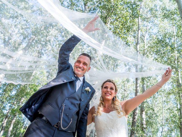 le nozze di Serena e David