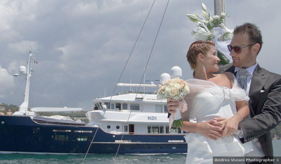 Il matrimonio di Nicola e Francesca a Lerici, La Spezia